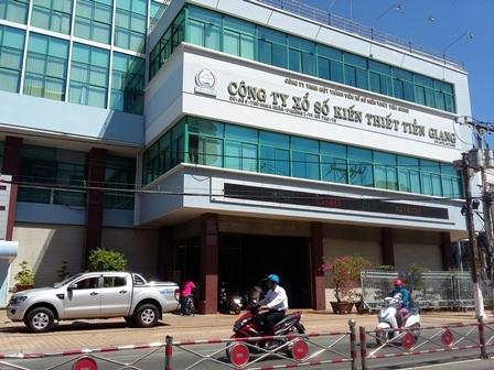 Công ty Xổ số kiến thiết Tiền Giang (Ảnh: Minh Giang).