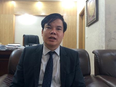 """Ông Lê Đình Vinh: """"Tôi rất bất ngờ về việc bổ nhiệm ông Châu làm hiệu trưởng. Tuy nhiên đó là quyết định của Bộ Tư pháp""""."""