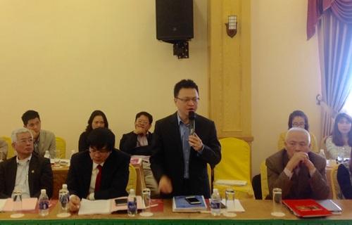 """Ông Lê Quốc Minh đề nghị bỏ """"Trang tin điện tử tổng hợp"""" trong dự thảo Luật Báo chí (sửa đổi)."""