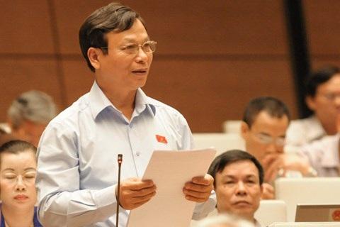 Đại biểu Bùi Mạnh Hùng (Ảnh: Quochoi.vn).