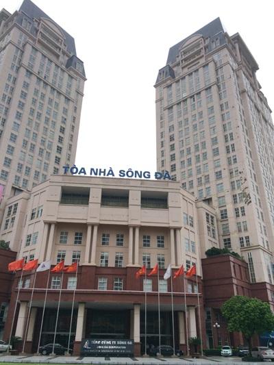 Trụ sở Tổng công ty Sông Đà.