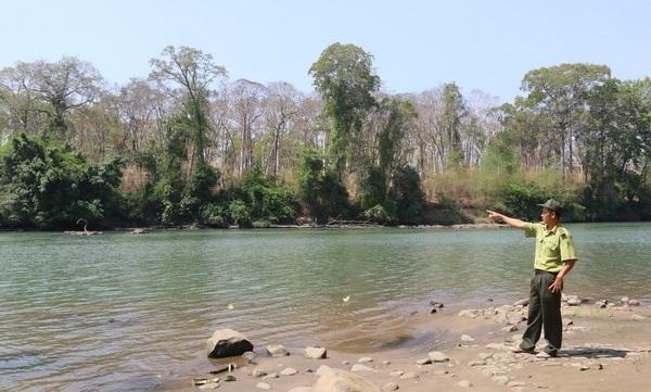 Khu vực dự kiến xây dựng nhà máy thủy điện (Ảnh: Báo TNMT)