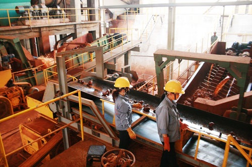 Nhà máy alumin Tân Rai (Ảnh minh họa)