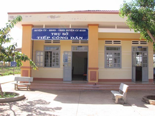 Trụ sở Tiếp công dân của huyện Cư Kuin.