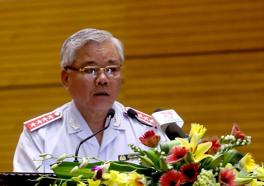 Tổng Thanh tra Chính phủ Phan Văn Sáu (Ảnh: B.Đ)