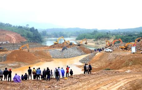 Dự án đầu tư xây dựng hệ thống cấp nước cho Khu kinh tế Vũng Áng có hiện tượng chỉ định thầu bất thường đã bị Thanh tra Chính phủ phát hiện (Ảnh: V.D)