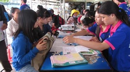 Tại TPHCM mọi công tác chuẩn bị đã sẵn sàng cho kỳ thi ĐH đợt 1 bắt đầu.
