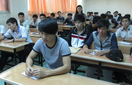 Năm 2013, chất lượng tuyển sinh của Trường ĐH Công nghiệp TPHCM cao hơn năm trước.