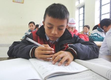 Cậu học trò Nguyễn Văn Mạnh