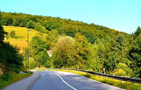Thu đã về trên những nẻo đường ở thành phố Heidelberg cổ kính