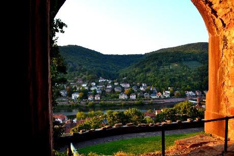 Heidelberg lãng đãng trong sắc thu
