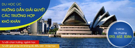 Du học Úc: Hướng dẫn giải quyết các trường hợp khó khăn (Kỳ 1)
