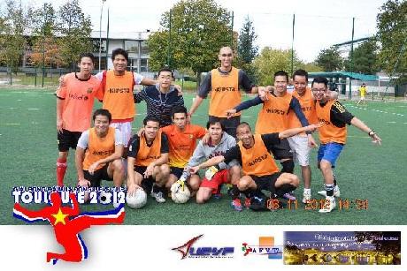 Đội Việt kiều Lyon đăng quang chức vô địch