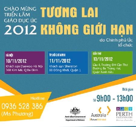 Triển lãm Giáo dục Úc 2012 - Chương trình do Chính phủ Úc tổ chức tại Việt Nam