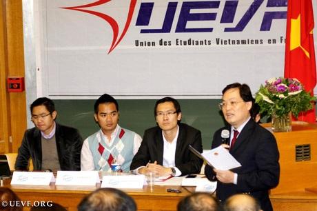 Đại sứ Dương Quốc Dũng phát biểu tại đại hội