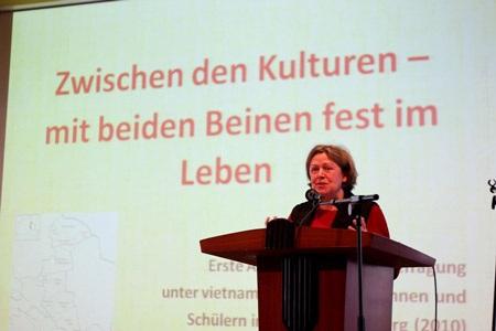 Đây là hội thảo đầu tiên về thanh niên Việt tại Đức - Ảnh: Hội SVVN tại Đức/Tạp chí Hương Việt