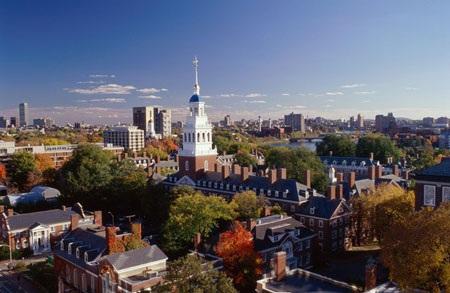 Khuôn viên xinh đẹp của các trường Đại học Mỹ