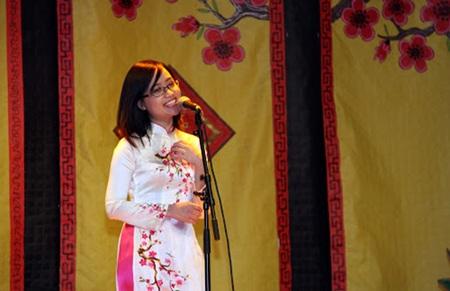 Phạm Hà Trang – Tổng phụ trách chương trình, là một sinh viên năng động đến từ UEVL