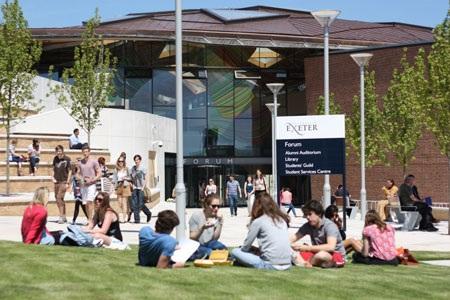 Hội thảo: Exeter- Top 7 về đào tạo đại học- sau đại học tại Anh