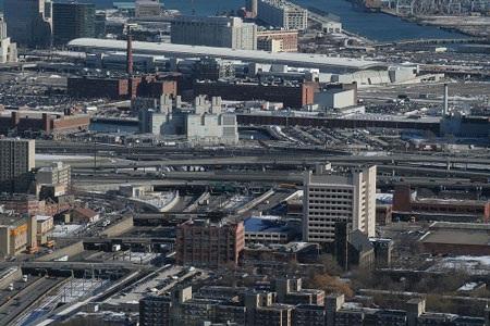 Lần đầu tiên tôi được đến nơi có kiến trúc hiện đại như Boston
