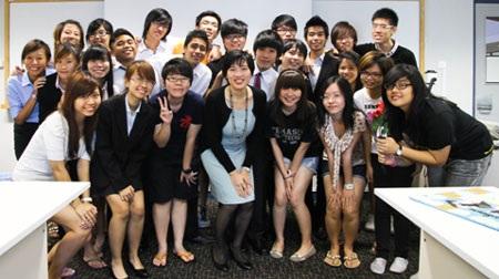 Môi trường học tập quốc tế dành cho các bạn học sinh PTTH