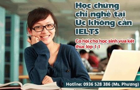 Lộ trình 3: Tiếng Anh (Nếu có) – Dự bị Cao đẳng – Cao đẳng – Đại học