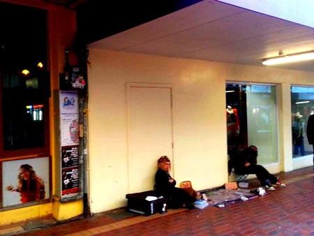 Tại Wellington, nghệ thuật vẽ tranh trên đường phố không phải là hiếm.