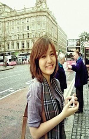 Hồ Vũ Phương Uyên – sinh viên khoa Tài chính, QUB