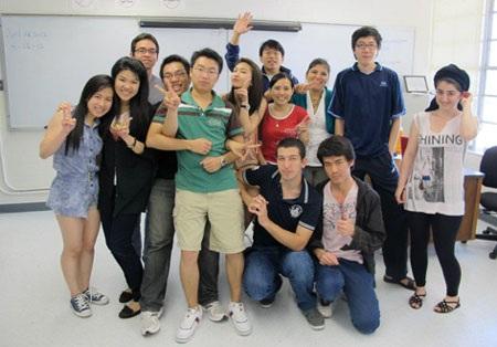 Chương trình Tiếng Anh thiết kế theo tiêu chí lớp ít học viên