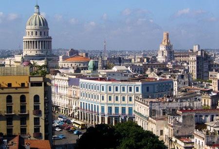 Một góc thủ đô La Habana
