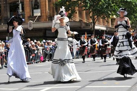 Người Úc hào hứng với lễ hội đua ngựa mùa xuân. Ảnh: Radioaustralia