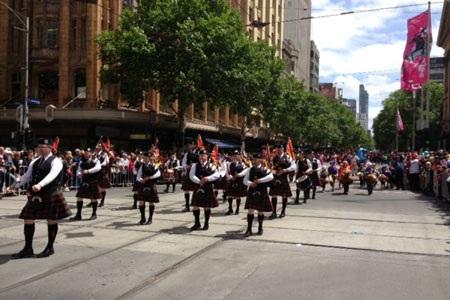 Những chú ngựa đang hâm nóng cả thành phố Melbourne. Ảnh: Radioaustralia