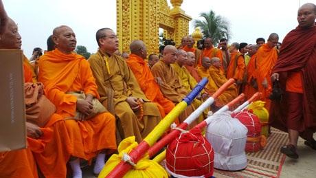 Toàn cảnh quần thể chùa Khmer