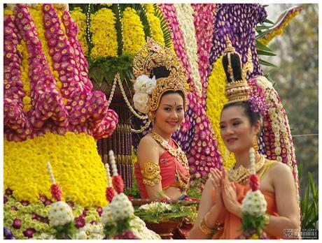 Lễ hội hoa Chiang Mai là một trong những sự kiện văn hóa du lịch nổi tiếng nhất thu hút