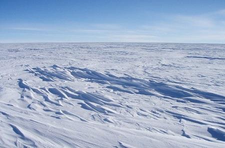 Bức ảnh do Trung tâm Dữ liệu Băng tuyết công bố năm 2008. Hầu hết các khu vực của