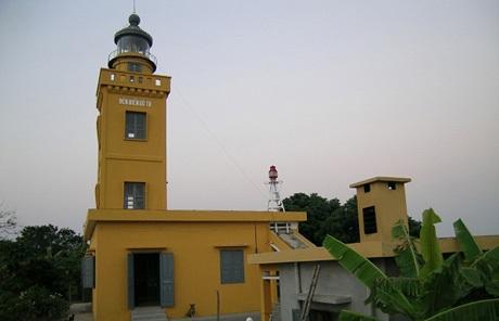 Ngọn hải đang, điểm cao nhất trên biển đảo Cô Tô.(ảnh internet)