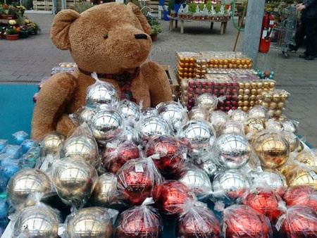 Không khí Noel đã tràn ngập làng quê Pháp