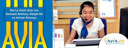 Chỉ đặt vé máy bay với các đại lý chính thức của các hãng máy bay như AVIA.vn.
