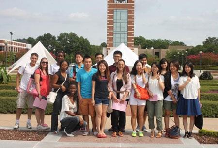 Sinh viên quốc tế tại Đại học Arkansas Fort Smith