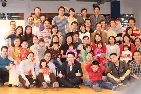 Du học sinh EPFL và Unil đón năm mới cùng các bạn quốc tế