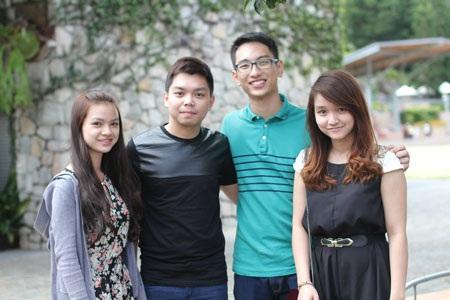 Nhiều tân sinh viên đã nhận được sự giúp đỡ và chỉ dẫn khi kết bạn với các anh chị học cùng ngành