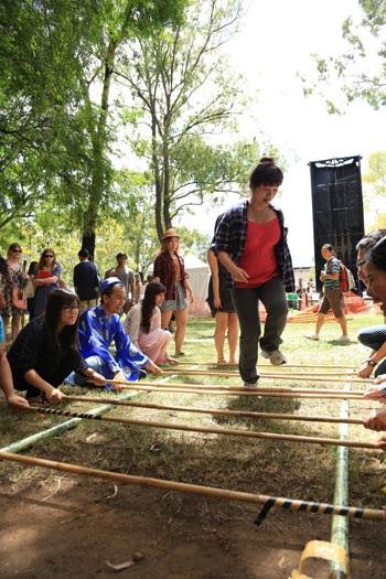 Nhảy sạp là nét văn hóa đặc trưng và được bạn bè quốc tế yêu thích