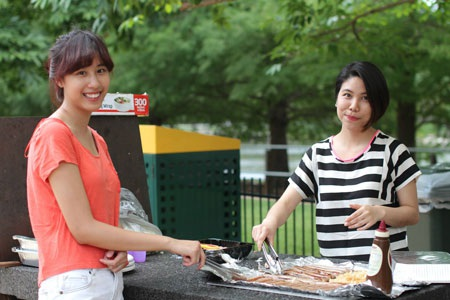 BBQ là một nét văn hóa tụ họp khá phổ biến ở xứ sở chuột túi