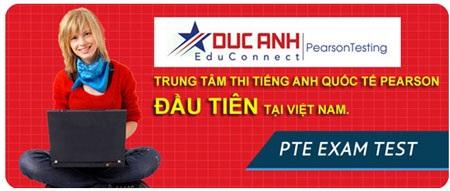 Đức Anh là công ty đầu tiên tại Việt Nam được phép tổ chức thi Pearson quốc tế.