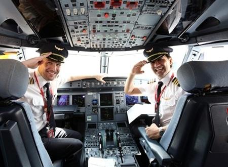 Thực hiện giấc mơ phi công trên đất Mỹ