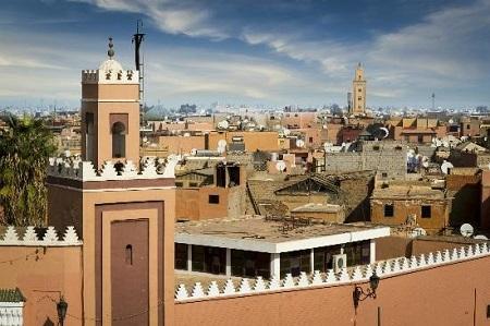 """""""Thành phố đỏ"""" Marrakech"""