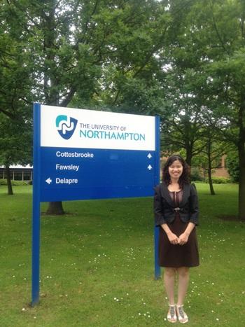 Trường Kinh doanh Northampton nằm trong top 10% các trường của Anh được xếp hạng về