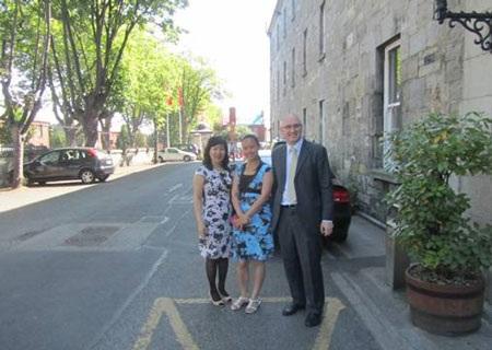 Đại diện PHC tại Griffith College Dublin