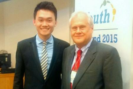 Hà Dương cùng Chủ tịch ECOSOC ông
