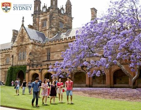 1/ Những thống kê ấn tượng về Đại học Sydney: